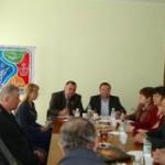 Вiдбулась зустріч керівників району з представниками організації Чорнобильців та організації Афганців