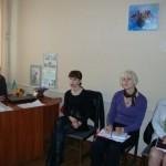 Заступник голови Павлоградської райдержадміністрації Л.М.Комаркова провела нараду