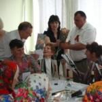 Урочиста зустріч на передодні святкування 67-річниці Перемоги
