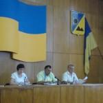 Голова Павлоградської райдержадміністрації В.М.Дуднік взяв участь у засіданні сесії районної ради